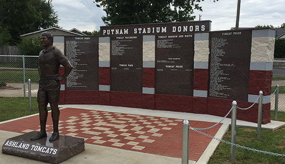 June 1 deadline for Putnam Stadium donor wall, commemorative bricks