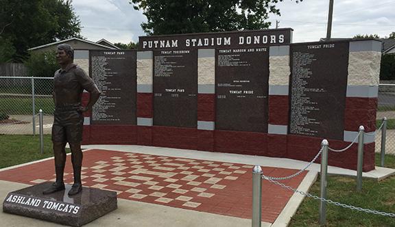 June 1 deadline for Putnam Stadium donor wall, commemorativebricks