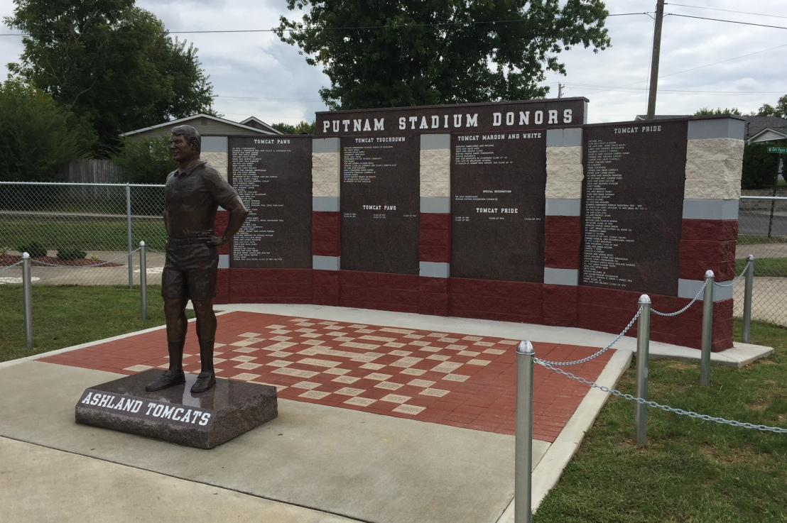 Putnam Stadium taking orders for bricks, Donor Wall